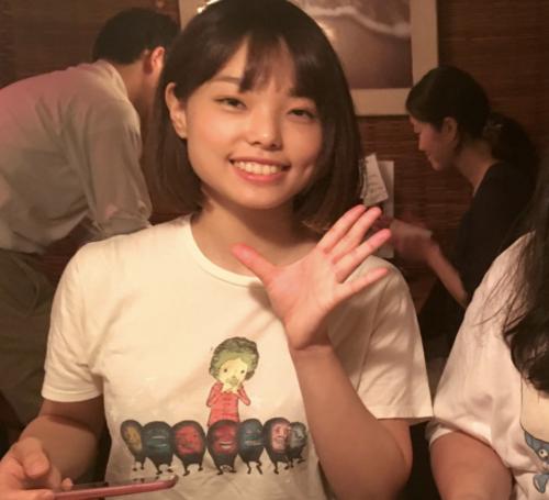 ぼる塾はるちゃんはTシャツでもカップがわかる!